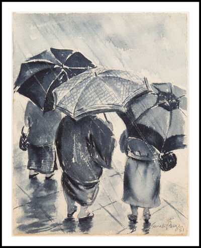 Sarah Brayer, 'Rainy Season Trio', 1981