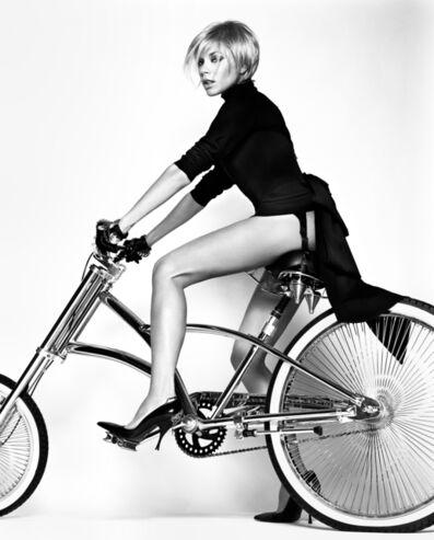 Bryan Guy Adams, 'Victoria Beckham on your Bike (Plate 2)', 2005