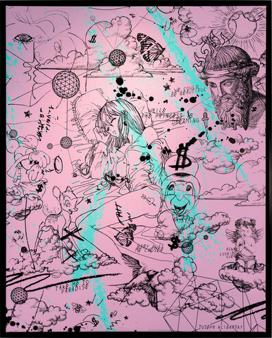 Joseph Klibansky, 'Take Me To Paradise (pink)', 2019