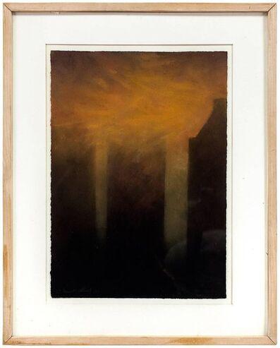 Claude Bauret Allard, 'The Fog On New York, 1988 Pastel', 1980-1989