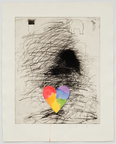 Jim Dine, 'Girl and her Dog II', 1971