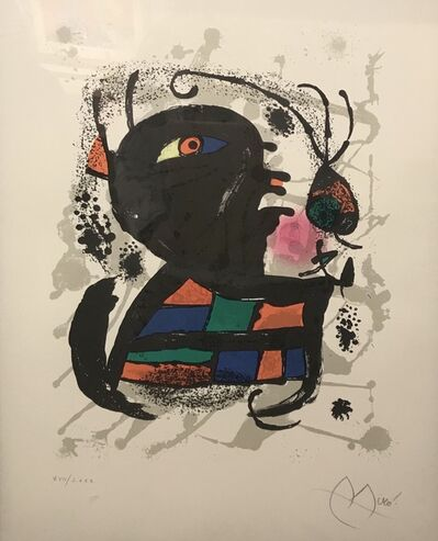 Joan Miró, 'Original abstract ', 1969