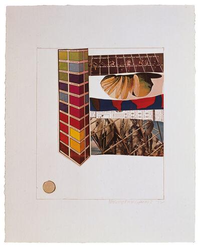 Robert Rauschenberg, 'Horsefeathers Thirteen-IV', 1972