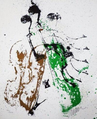 Arman, 'Trio A Cordes', 1987