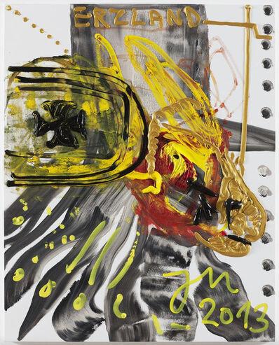 Jonathan Meese, 'Der HUMMERHUND SPUCKT KEINE SPUCKE (MEHR) INS ALLGEILE NÄPFCHEN', 2013