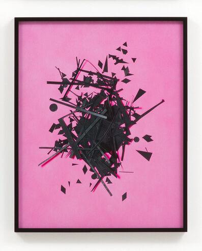 Hannah Whitaker, 'Cutouts (Pink)', 2014