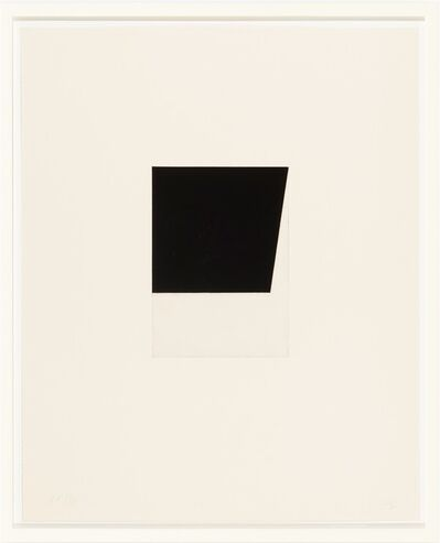 Ellsworth Kelly, 'Concorde V', 1981-1982