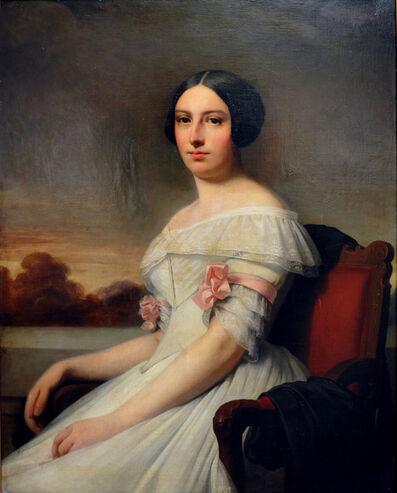 RICARDO FEDERICO DE MADRAZO GARRETA, 'Retrato Dama Sentada', 1833