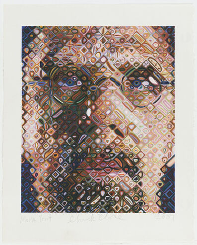 Chuck Close, 'Self Portrait', 2009