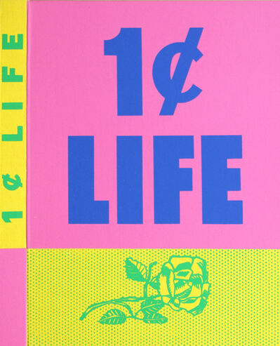 Roy Lichtenstein, 'One Cent Life ', 1963-1964