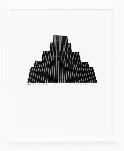 Dan Graham, 'New York City, Ziggurat Skyscraper', 1966