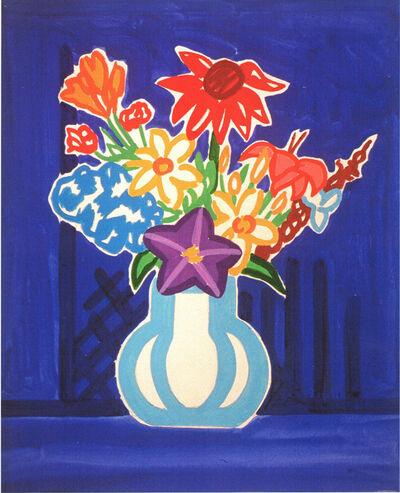 Tom Wesselmann, 'Study for Unicef bouquet', 1977