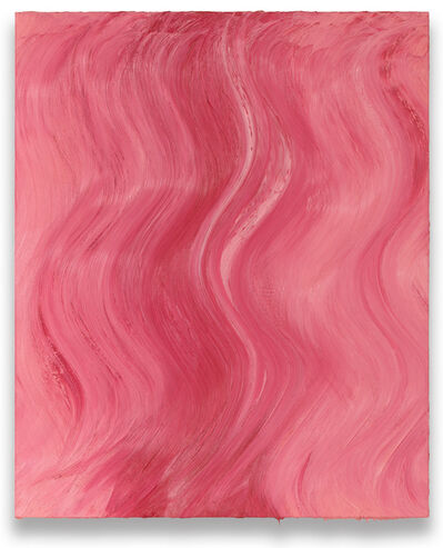 Jason Martin, 'Untitled (Brilliant pink / Mixed white)', 2020