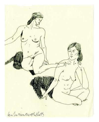 Benjamin Murphy, 'Nude Sketch 8', 2015