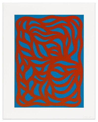 Sol LeWitt, 'Loops, Red/Blue', 1999