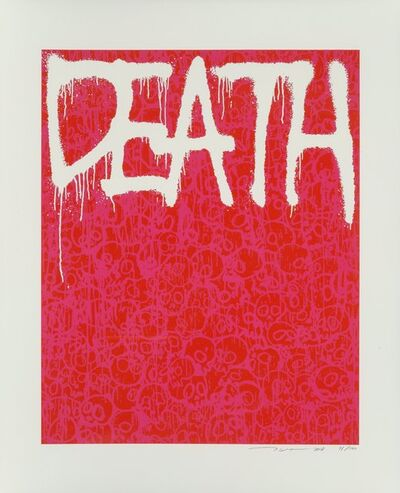 Takashi Murakami, 'Death (Red)', 2018