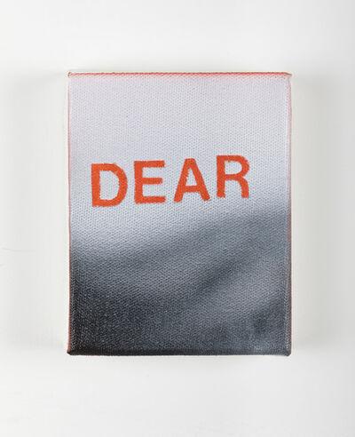 Betty Tompkins, 'Dear', 2014