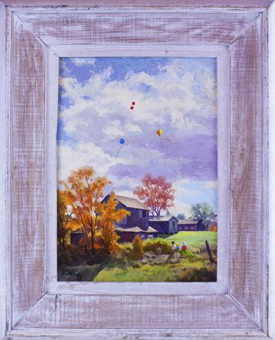 Frederick Buchholz, 'Kites Fly High', ca. 1970