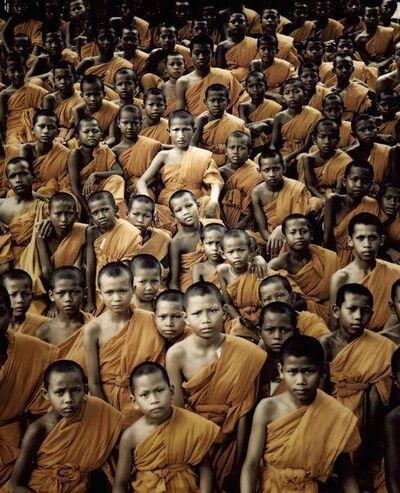Jimmy Nelson, 'XIX 330 v- Buddhist Monks - Ganden Monastery - Tibet', 2011