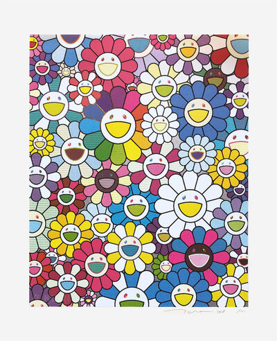 Takashi Murakami, 'A Field of Flowers Seen from the Stairs to Heaven', 2018