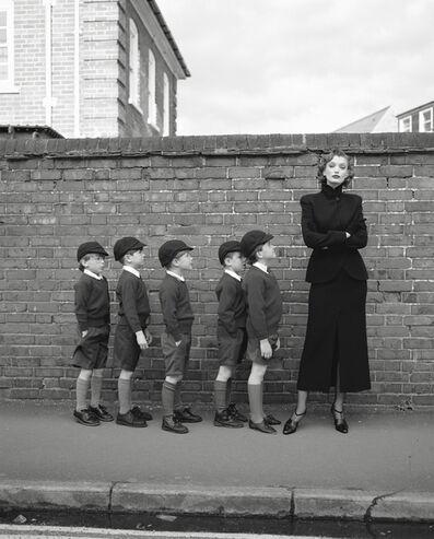Geof Kern, 'Untitled (Model with Schoolboys)', 1995