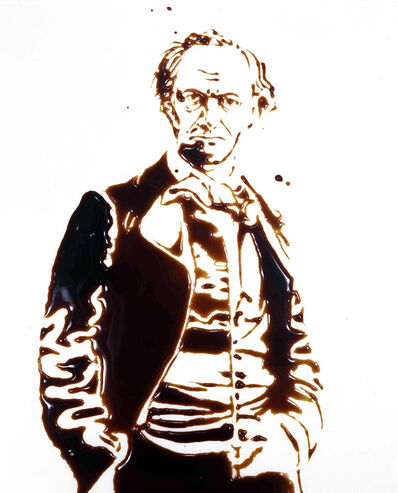Vik Muniz, 'Charles Baudelaire (from Pictures of Chocolate)', 1997