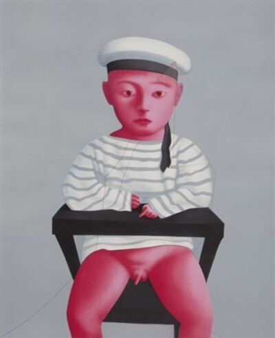 Zhang Xiaogang, 'Baby in a Sailor Suit', 2009
