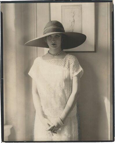 Edward Steichen, 'Bendal Hat'