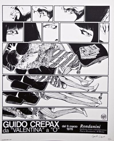 "Guido Crepax, 'Guido Crepax - From ""Valentina"" to ""O""', 1976"