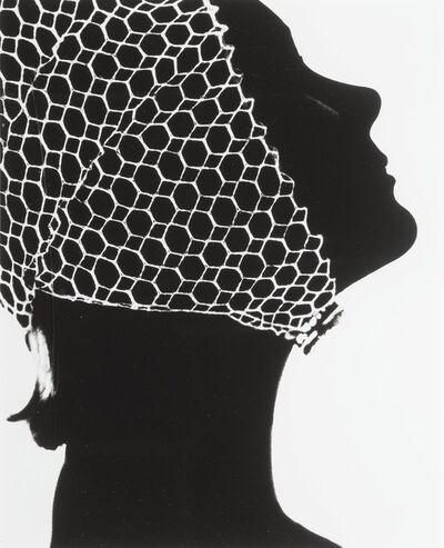 Lillian Bassman, 'Mesh Hat', 1950s