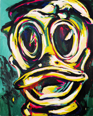 Luis Frangella, 'Ha Ha Ha!', 1984