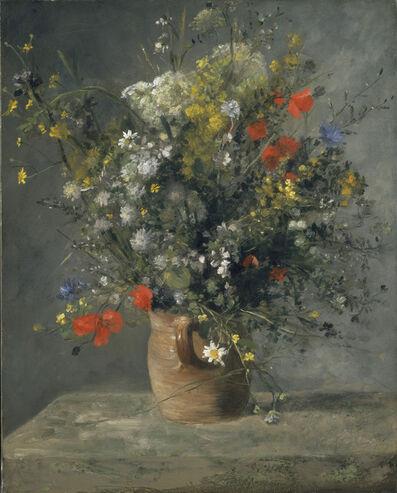 Pierre-Auguste Renoir, 'Flowers in a Vase', ca. 1866