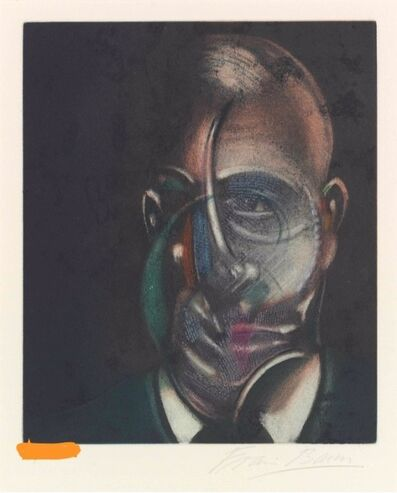 Francis Bacon, 'Portrait de Michel Leiris', 1990