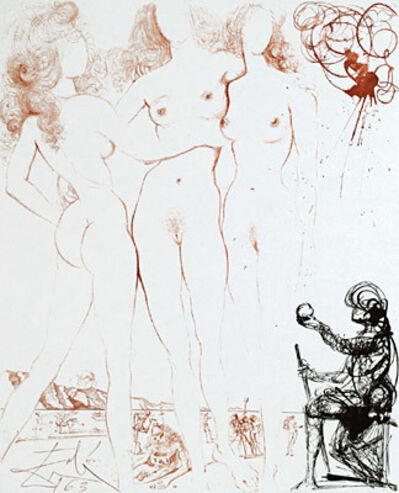 Salvador Dalí, 'The Judgment of Paris', 1963