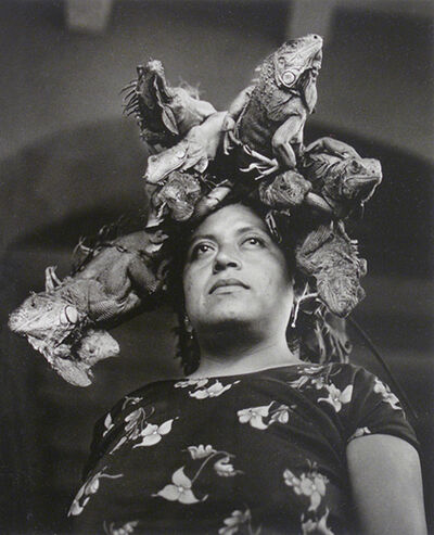 Graciela Iturbide, 'Nuestra Señora de las Iguanas. Juchitán, México', 1979