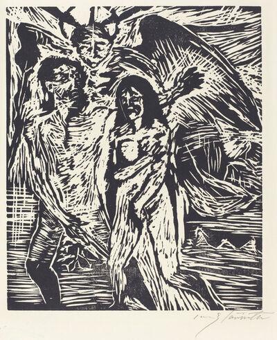 Lovis Corinth, 'The Expulsion from Paradise (Austreibung aus dem Paradies)', 1919