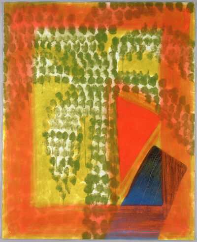 Howard Hodgkin, 'Street Palm', 1990-1991