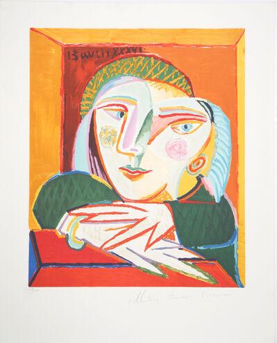Pablo Picasso, 'Femme Accoudée à sa Fenêtre', 1973-Originally created in 1936