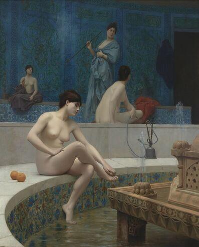 Jean-Léon Gérôme, 'Les Baigneuses du Harem', 1901