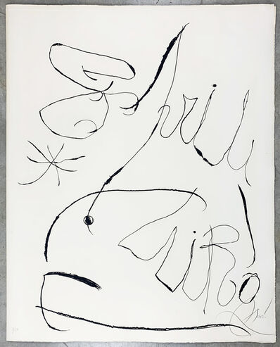 Joan Miró, 'Espriu', 1971