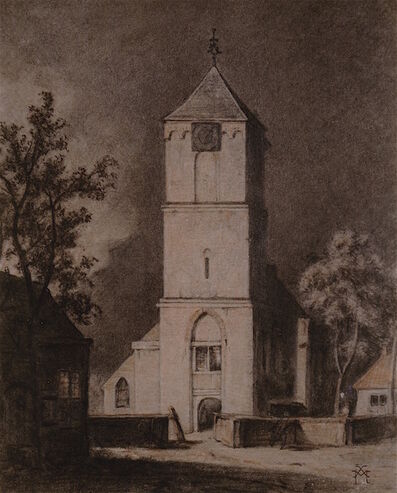 Xavier Mellery, 'The Church', ca. ca. 1898