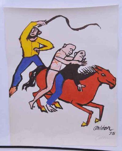 Alexander Calder, 'Flight from Tyranny', 1975