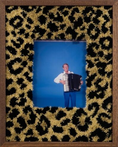 Elad Lassry, 'Untitled (man, accordion)', 2017