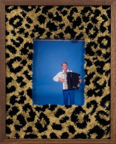 Elad Lassry, 'Untitled (man, accordion)', 2017