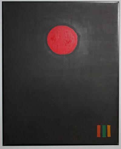Adolph Gottlieb, 'Cadmium Red Disc', 1971