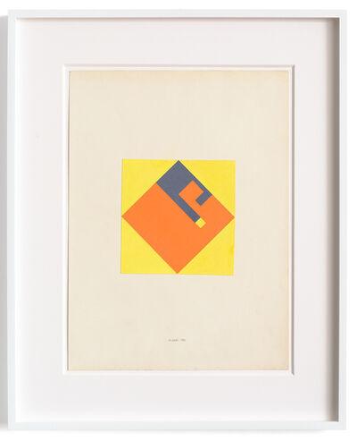 Bruno Munari, 'Composizione.Negativo-Positivo', 1980