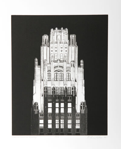Richard Haas, 'American Radiator Building', 2005