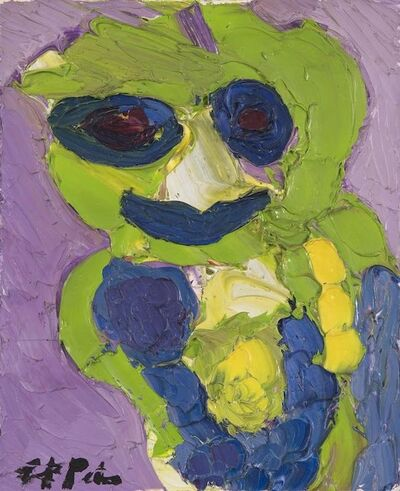 Karel Appel, 'Green Figure', 1985