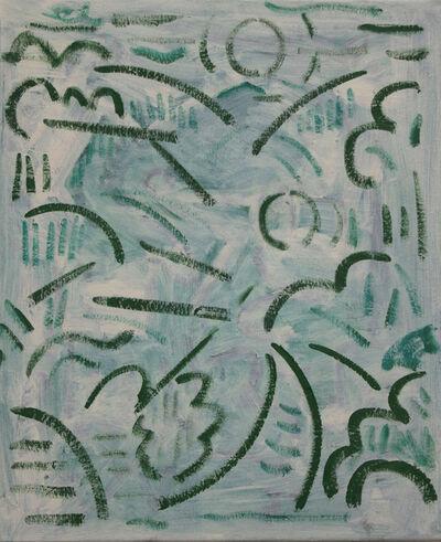 Kiera Bennett, 'Plein Air (green lines)', 2018