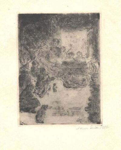 James Ensor, 'L'Adoration des Bergères', 1888